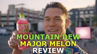 AverageStatus reviews the new Mountain Dew flavor, Major Melon.