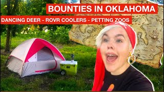BOUNTIES IN OKLAHOMA :  DANCING DEER, ROVR COOLERS & PETTING ZOOS