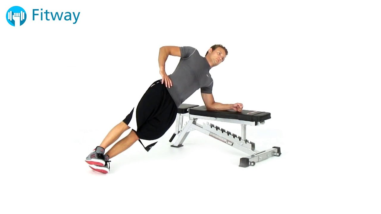 How To Do Bodyweight Side Bridge Bench
