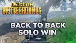 Back to back solo win - Battlegrounds Highlights #1