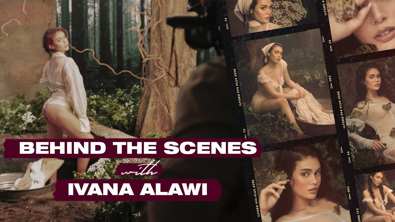 Download BEHIND THE SCENES with IVANA ALAWI | Amorsolo-Inspired Shoot for PREVIEW | BJ Pascual
