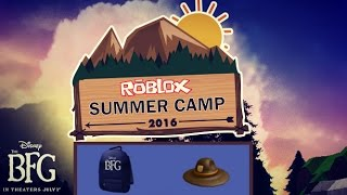Roblox - How to get BFG Backpack & Summer Camp Ranger Hat