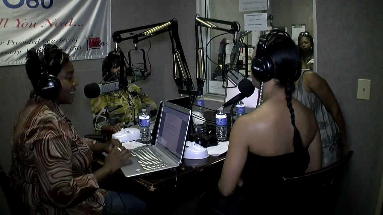 ICE T DAUGHTER TESHA ON THE CLAIM YOUR FAME RADIO SHOW ATLANTA