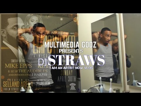 DJStraws- I Am An Artist Now ( Keyshia Cole & Mike Epps)  Empowered, A Night Of Energy - Fresno, CA