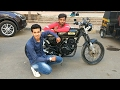 Customized Cafe Racer (SNIPER)   Bajaj Pulsar 150