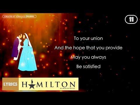 #11 Hamilton - Satisfied (VIDEO LYRICS)