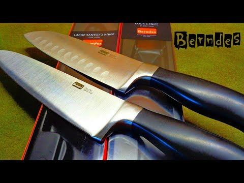 Кухонные  ножи Berndes. Overview Of German Kitchen And Cooking Knives.