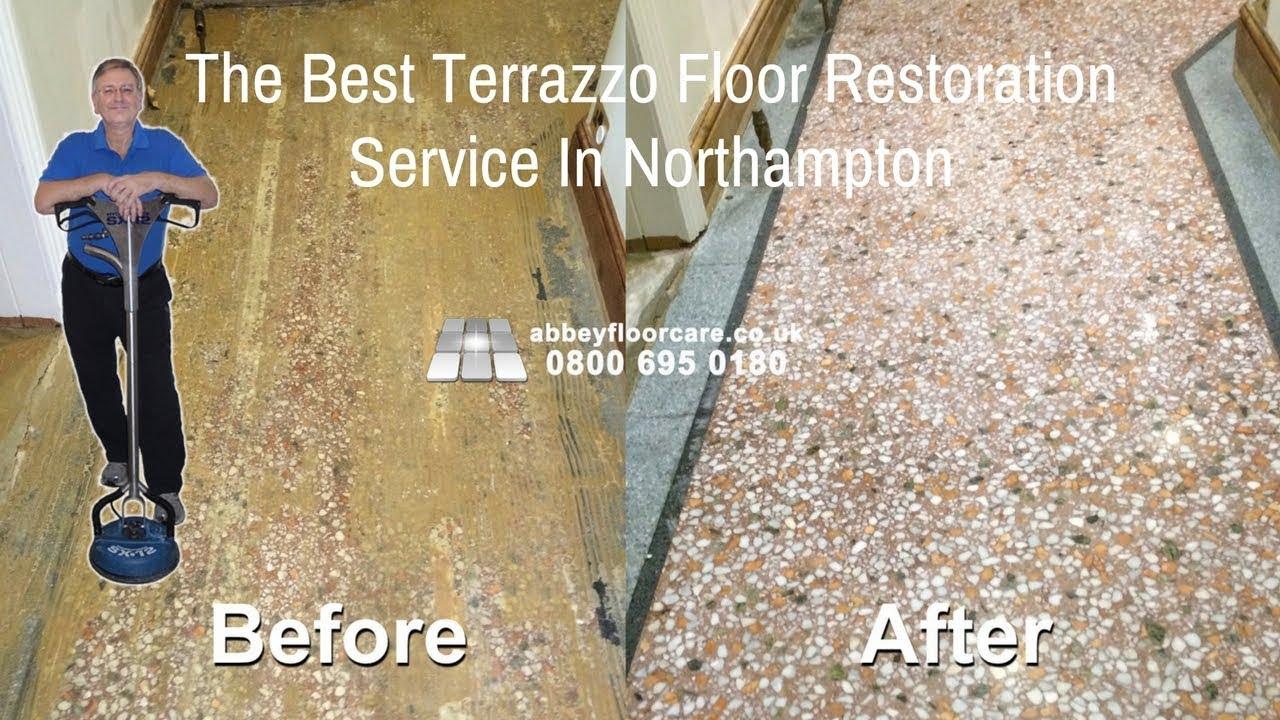 Terrazzo Floor Restoration Northampton Nn3 Restoring