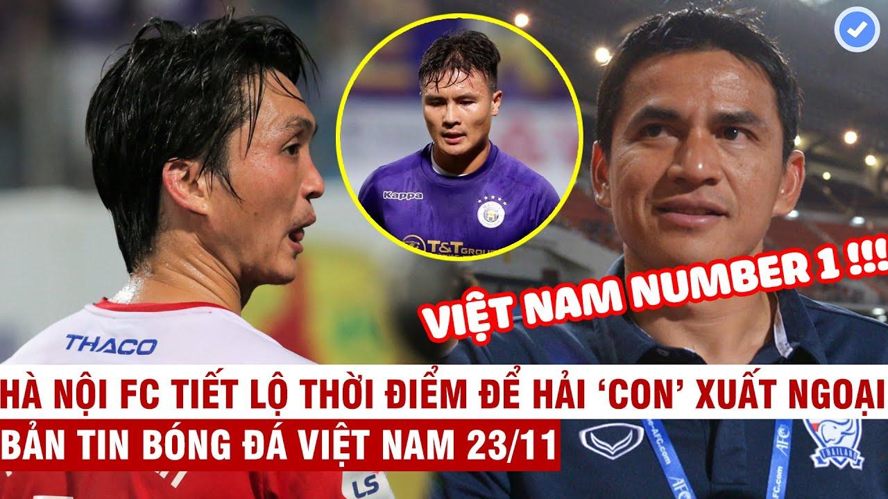 VN Sports 23/11 | HOT Nhiều CLB Thái muốn chiêu mộ Tuấn Anh, Kiatisak: Bóng đá VN nhất Đông Nam Á