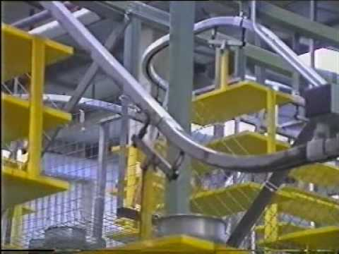 Powertrack 20 Overhead Conveyor System Youtube