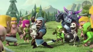"Clash Of Clans Movie : Full Animated ""Thug Life"" Clash of Clans Animation 
