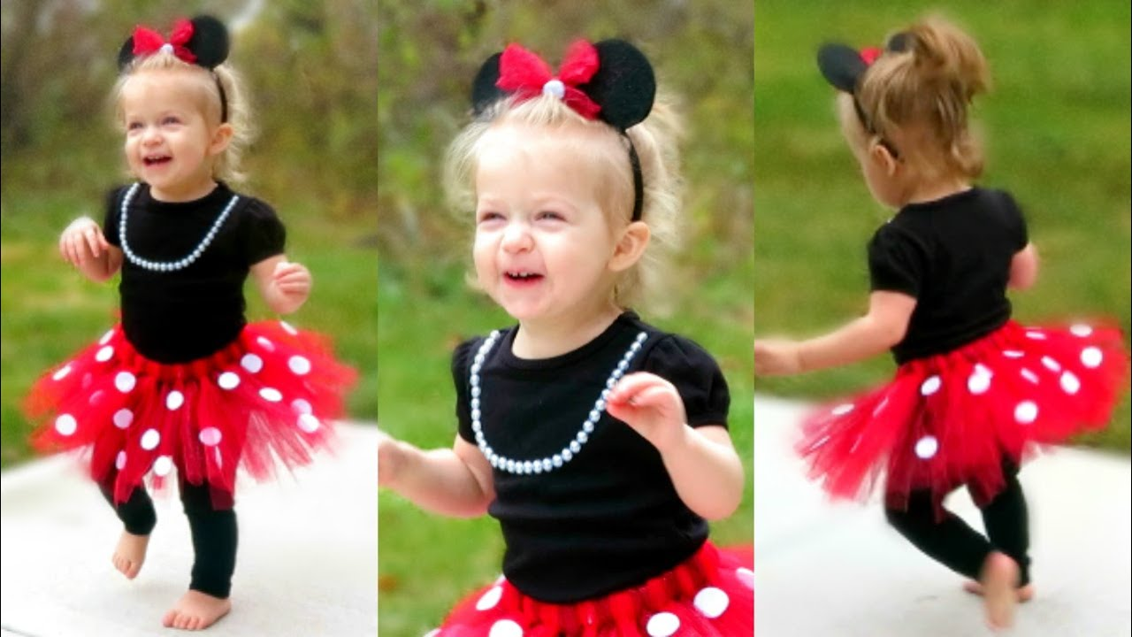 Diy minnie mouse costume for toddlers laceys halloween outfit diy minnie mouse costume for toddlers laceys halloween outfit youtube solutioingenieria Images