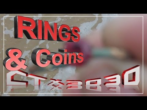 rings and coins water beach detecting ctx3030