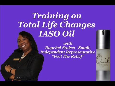 IASO Oil Training Presentation w/Raychel Stokes Small - See Details We Are No Longer With This Co.