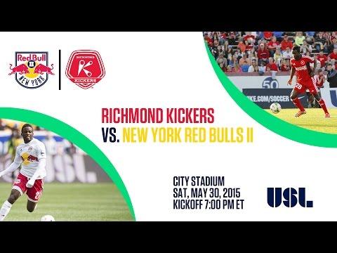 Livestream: New York Red Bulls II at Richmond Kickers
