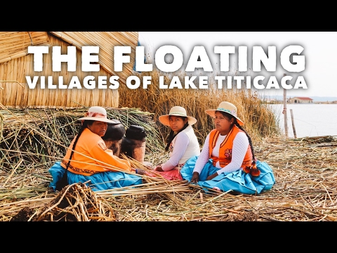 THE FLOATING VILLAGES OF LAKE TITICACA IN PERU.. AND THE ISLAND OF TAQUILE || Peru Travel Vlog 5