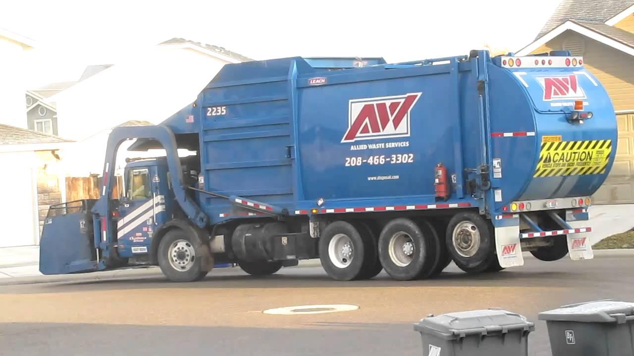 Garbage Trucks Allied Waste Toy Garbage Trucks