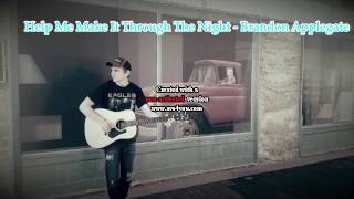 Help Me Make It Through The Night - Kris Kristofferson (Acoustic Cover)