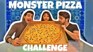 MONSTER PIZZA Challenge | Rimorav Vlogs