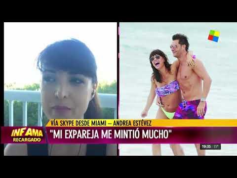 El drama de Andrea Estévez con su ex