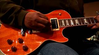 Unboxing Gibson Les Paul standard all mahogany with burstbucker pro pickups