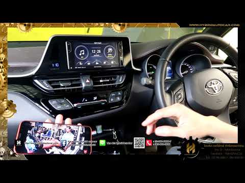 TOYOTA C-HR HV   USB + HDMI ปลั๊กแปลงสายเข้ามือถือ -โดย HYBRID AUTO CAR รังสิต คลอง3
