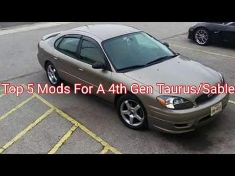 The Top 5 Mods For The 4th Gen Taurus/Sable (2000-2007)