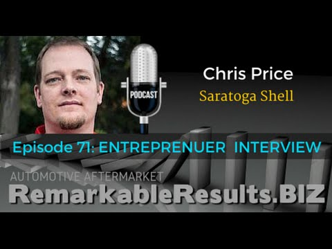 RR 071: Chris Price from Saratoga Shell