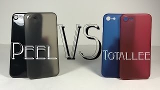 Totallee Scarf vs Peel Super Thin Case | Review