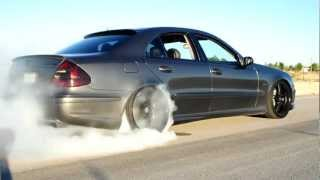 Mercedes Benz E55 AMG.mp4