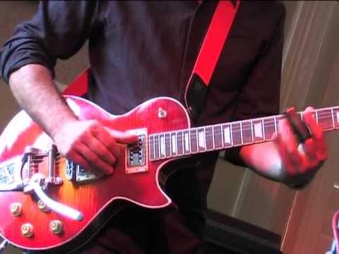 James Meston Plays Slide Blues on the Ali Kat Vintage Blues Guitar