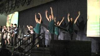 """""""A Mighty Fortress"""" by Christy Nockels performed at Messiah College Baccalaureate May 13, 2011"""