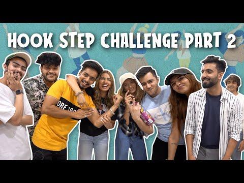 Hook Step Challenge Part 2 ft DamnFam! | Aashna Hegde