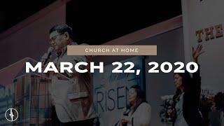 Crossroads Christian Center   March 22, 2020