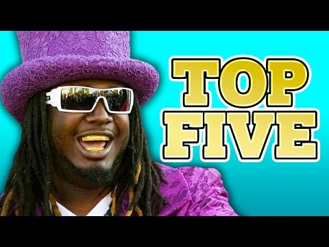 T-PAIN TOP 5