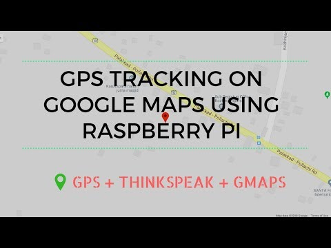 Real Time GPS Tracking on Google maps using Raspberry Pi and Thinkspeak Cloud