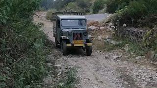 Mahindra nc 640 dp | mahindra jeep on hilly road | Mahindra old jeep | Mahindra bolero...