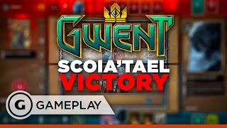 The Witcher Card Game: Scoia'Tael Victory in Gwent