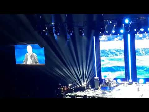 Franklin Graham in Oslo, Norway : Day one