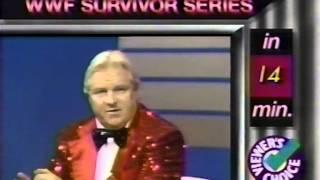 Survivor Series 1987 Pre-Show