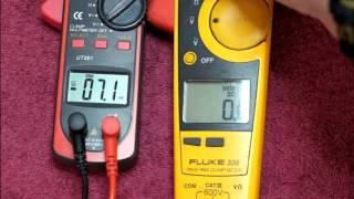 Episode 34 UT201 AC Clamp Meter Review