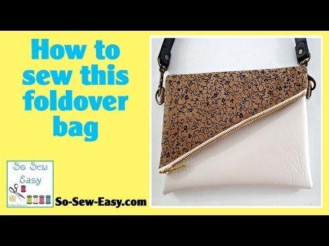 How to sew the All in a Flap Bag
