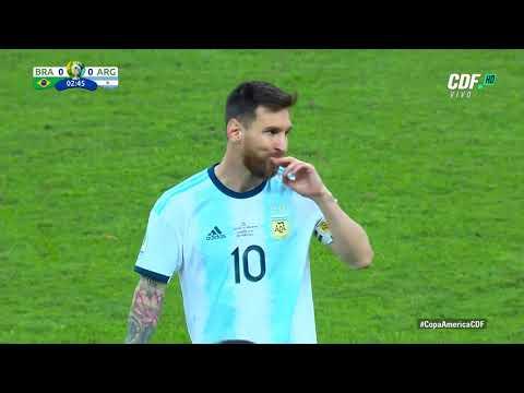 Brasil vs Argentina Partido Completo Semifinal Copa América 2019 (Claudio Palma)