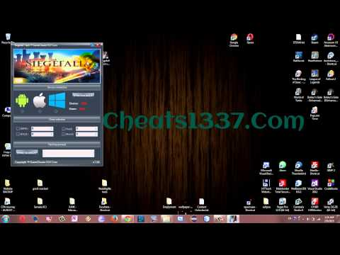 windows phone game hack tool - Siegefall Hack Tool for Android iOS Windows Phone - Get Unlimited Gems & Gold FREE