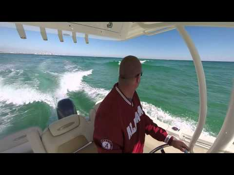 Orange Beach, Alabama to Pensacola, Florida Boat Ride