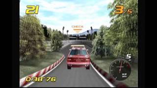 Let's Play Vanishing Point Sega Dreamcast HD