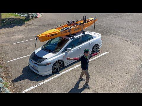 Loading Hobie Pro Angler On My Car | Kayak Fishing