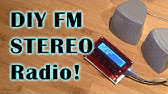 How to create FM receiver with TEA5767 and Arduino - YouTube