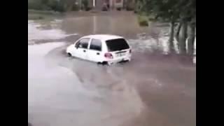 Qashqadaryo kuchalarida sel