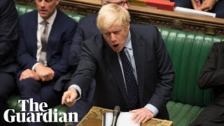 Boris Johnson says he will attempt to call an election after losing crucial Brexit vote